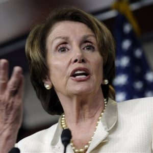 House Minority Leader, Democrat Nancy Pelosi of California.  (AP Photo/Susan Walsh)