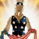 Uncle Sam: Crying out for an America that no longer exists.