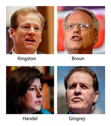 Jack Kingston, Phil Gingrey, Paul Broun, Karen Handel