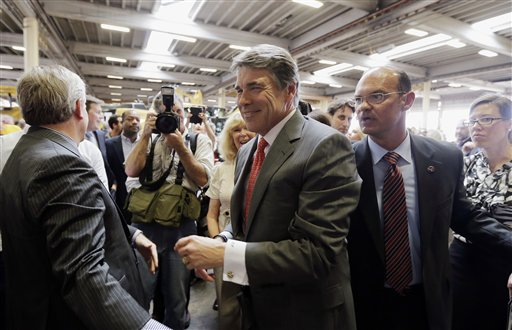 So, who will follow Rick Perry as governor of Texas?