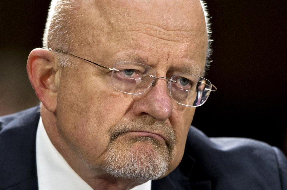 National Intelligence Director James Clapper testifies on Capitol Hill (AP)