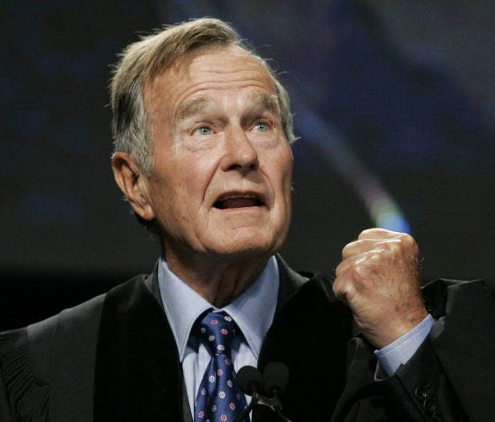Volunteerism bringing George H.W. Bush to the White House