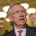 Senate majority leader Harry Reid. (AP Photo/Jacquelyn Martin)