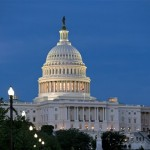 The U.S. Capitol is seen in Washington, Sunday night, June 23, 2013.  (AP Photo/J. Scott Applewhite)