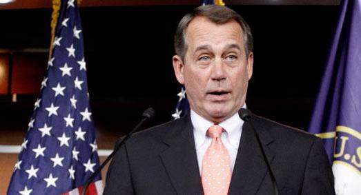Boehner's erratic behavior worries House Republicans