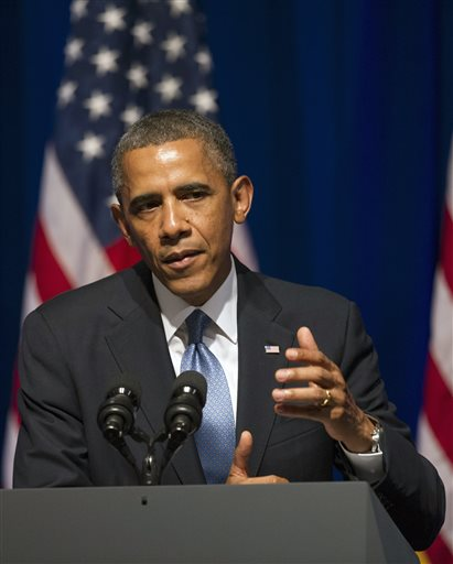 Obama tells supporters it is time to motivate citizen anger