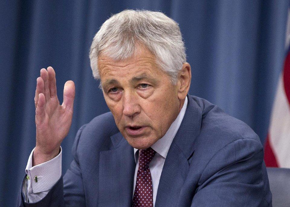 Defense Secretary Chuck Hagel (AP)