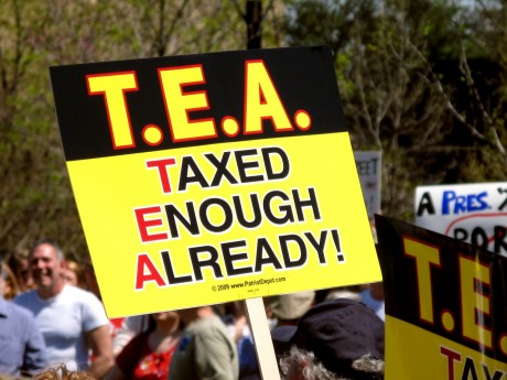 Tea Party Republicans are teed off