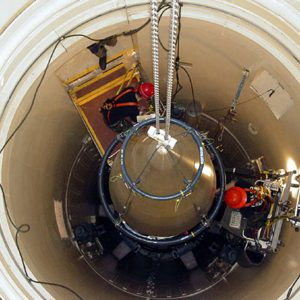 Missile silo in Montana (AP)