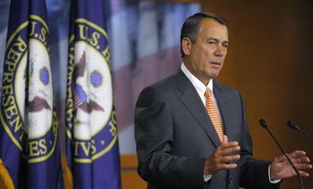 House Speaker John Boehner. (REUTERS/Gary Cameron)