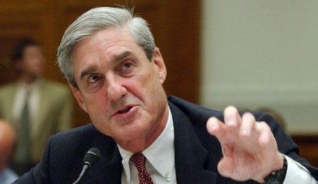 Outgoing FBI director Robert Mueller