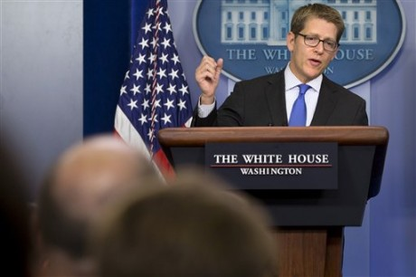 White House press secretary Jay Carney. (AP Photo/Jacquelyn Martin)