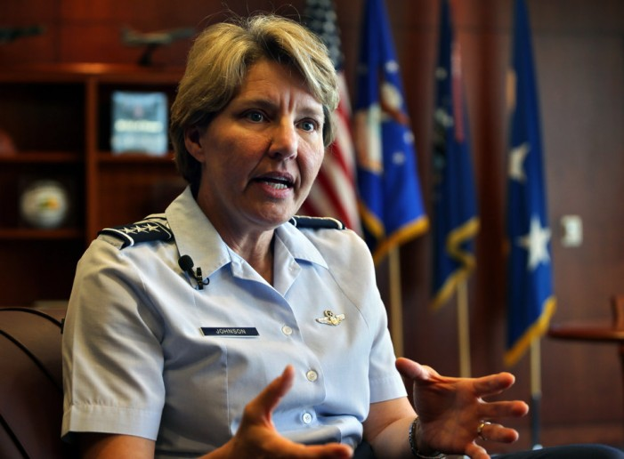 First woman to run AF academy