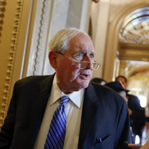 Sen. Carl Levin, chairman of the Senate Armed Services Committee (AP)
