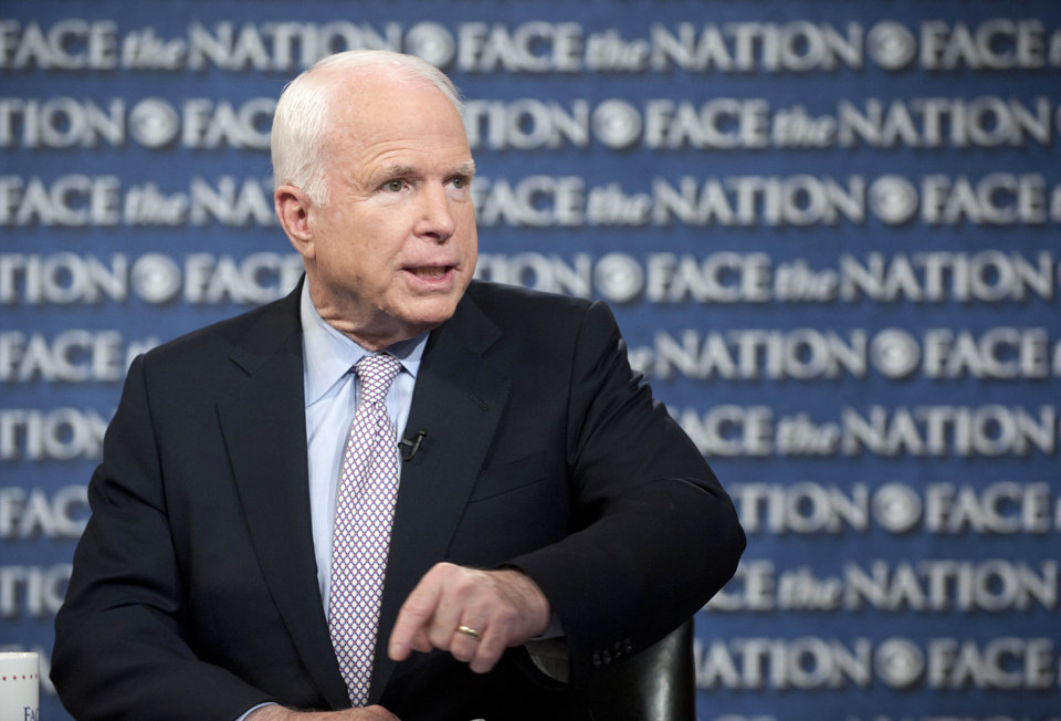 Sen. John McCain (CBS News)