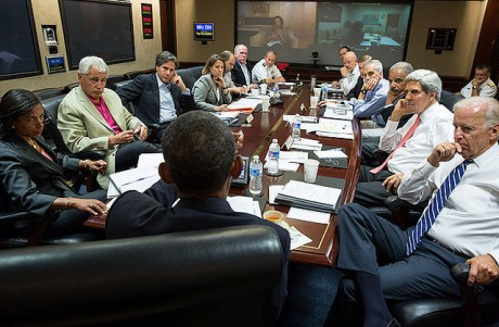 Obama meets with national security team (Pete Souza/White House)