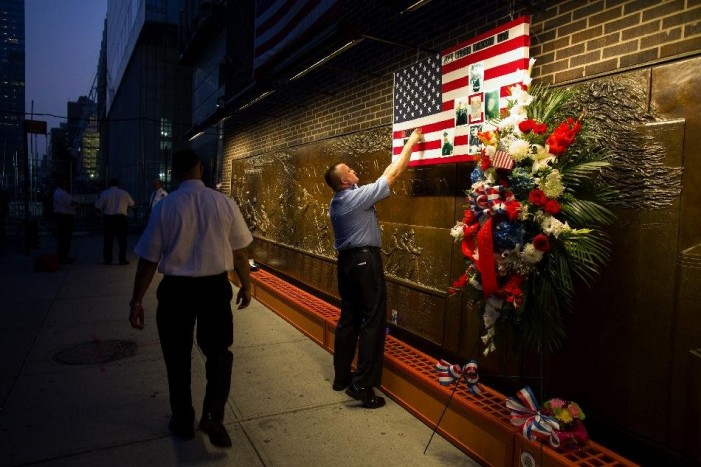 Somber tributes to memories of 9/11 attacks