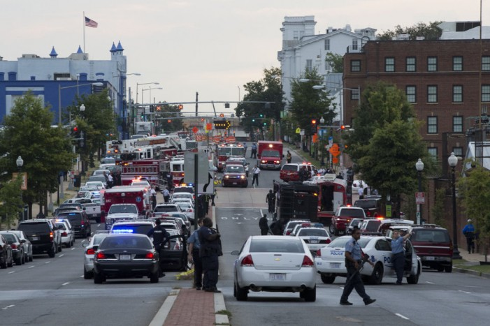 Shooting spree at Washington Navy Yard leaves at least 12 dead