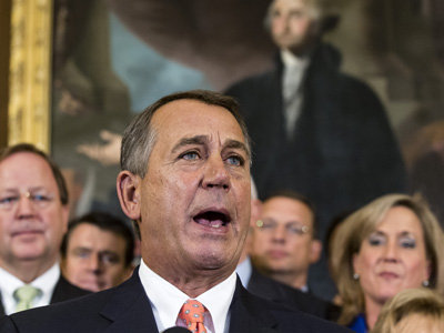 Speaker of the House John Boehner claims a victory that doesn't exist (AP)