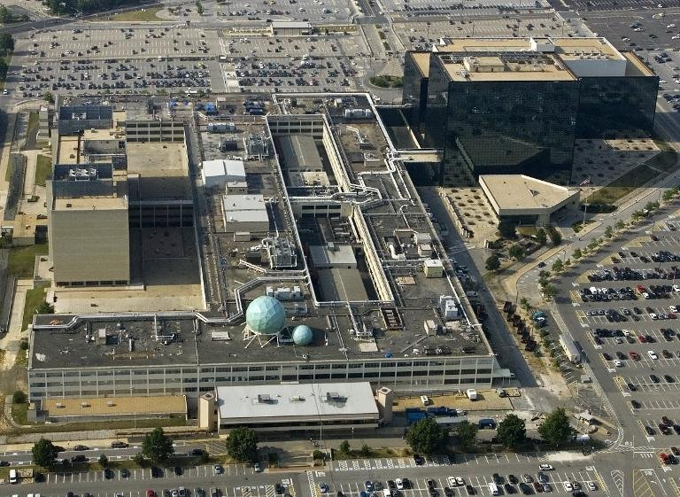 The National Security Agency (NSA) in Fort Meade, Maryland. (AFP Photo/Paul J. Richards)