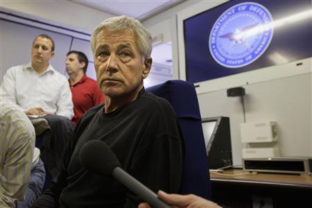 Chuck Hagel: Government shutdown 'astoundingly irresponsible'