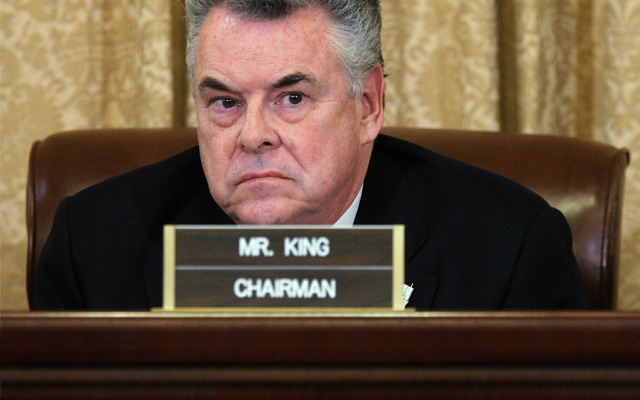 Republican Rep. Peter King