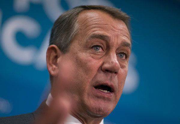John Boehner: Governing or drinking?