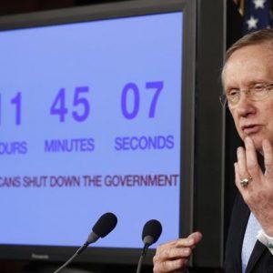 Senate Majority Leader Harry Reid. (REUTERS/Larry Downing)