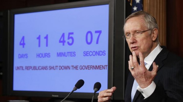 Senate Majority Leader Harry Reid. (REUTERS/Larry Downing)