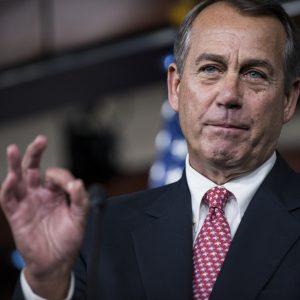 Speaker John Boehner: Ordering one for the road?
