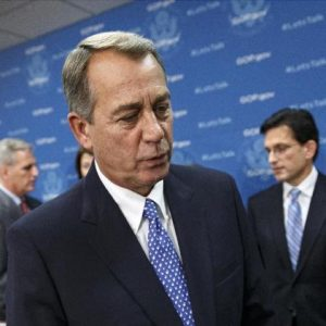 John Boehner: The unpredictable wild card. (AP Photo/J. Scott Applewhite)