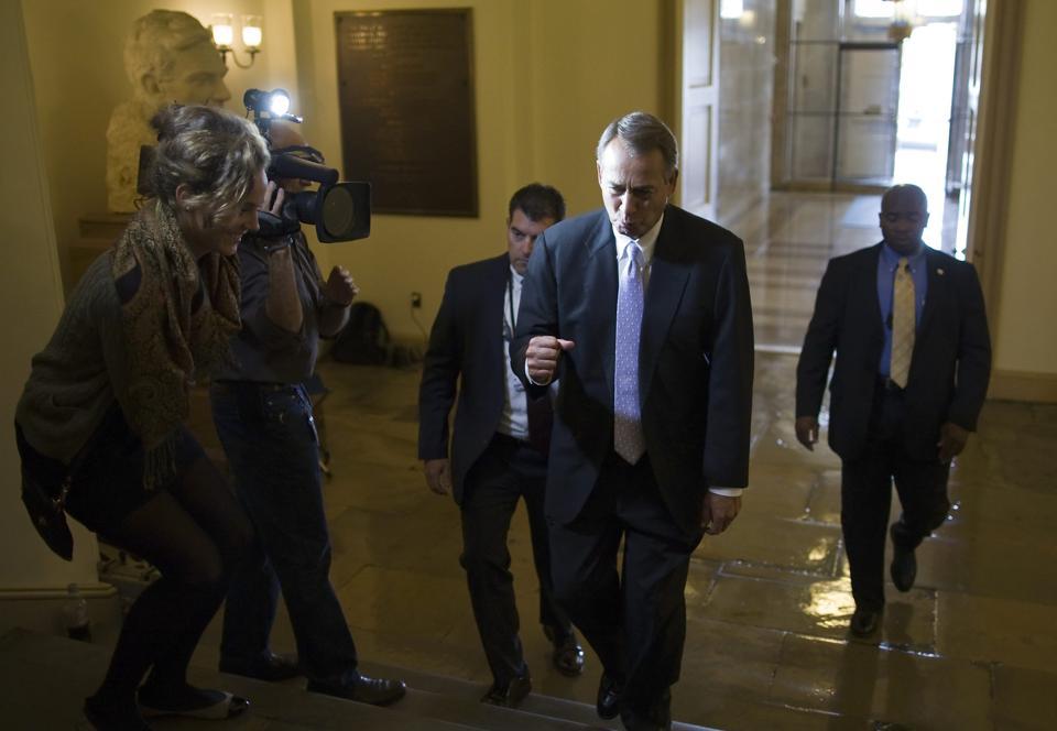 Speaker of the House John Boehner (Reuters/Jonathan Ernst)