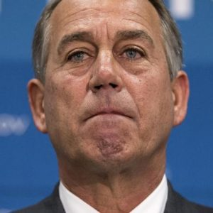 The Speaker is at a loss for words and soon will be out of a job. (AP/J. Scott Applewhite)