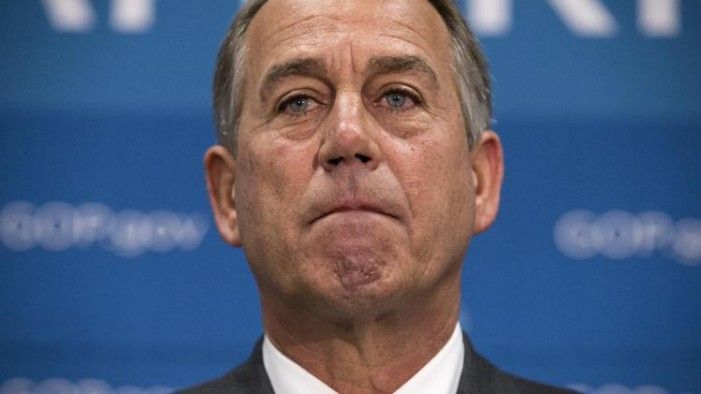 Turn out the lights.  John Boehner's party as Speaker is over