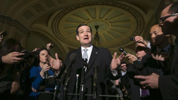 Sen. Ted Cruz (R-TX): Winner or loser? (REUTERS/Kevin Lamarque)