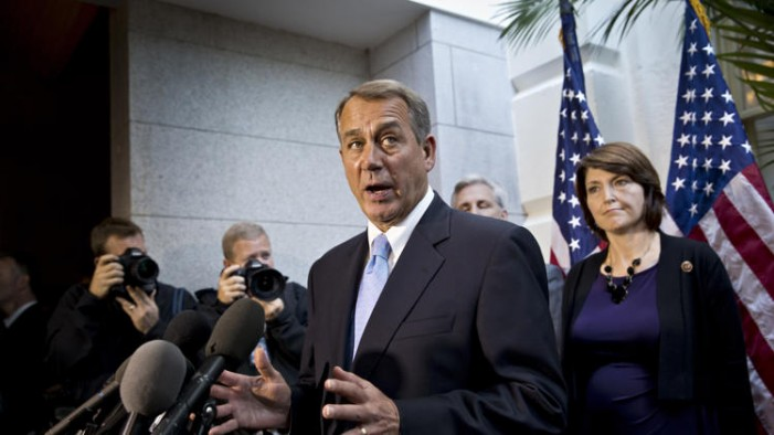 Speaker Boehner damaged but still on his feet after budget battle