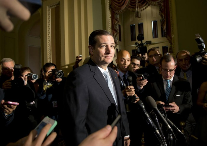 Cruz: Republicans in Senate turned on their colleagues