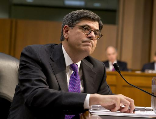 Treasury Secretary Jacob Lew (AP Photo/J. Scott Applewhite)
