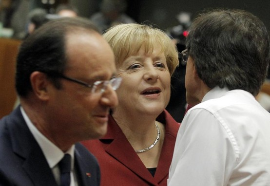 German Chancellor Angela Merkel at US Summit (AP/Yves Logghe)