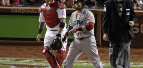 Red Sox even up series with 4-2 win over Cards