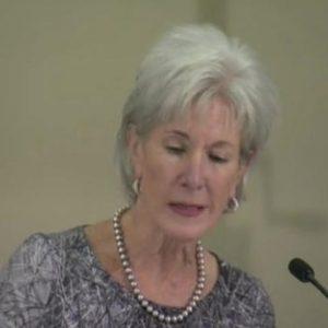 Health & Human Services Secretary Kathleen Sebelius (KVUE-TV)