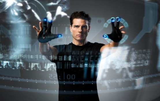 Tom Cruise in 'Minority Report'.( Courtesy of 20th Century Fox/DreamWorks Pictures)