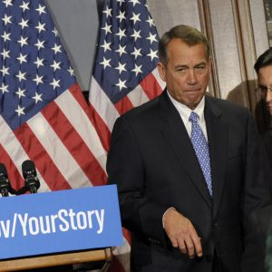 House Speaker John Boehner and Majority Leader Eric Cantor:  Two failures leading a party of losers. (AP/Susan Walsh)