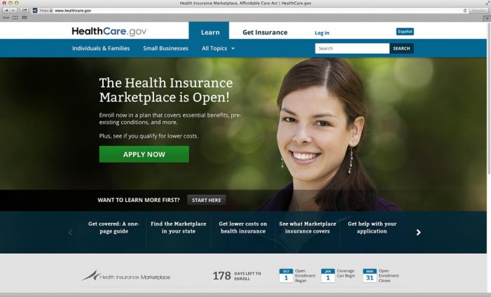 Heathcare.gov back up but site may be slow