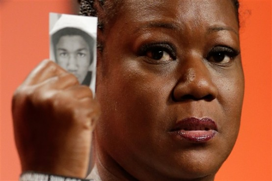 Sabina Fulton, mother of Trayvon Martin (AP/Matt Rourke)