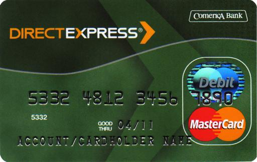 Social Security Administration shows a prepaid MasterCard debit card that Social Security and Supplemental Security Income recipients who do not have bank accounts have the option of getting with their benefits instead of a paper check.