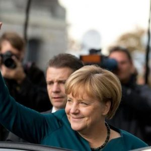 German Chancellor Angela Merkel: We are, therefore we spy on her. (AFP/Kay Nietfeld)