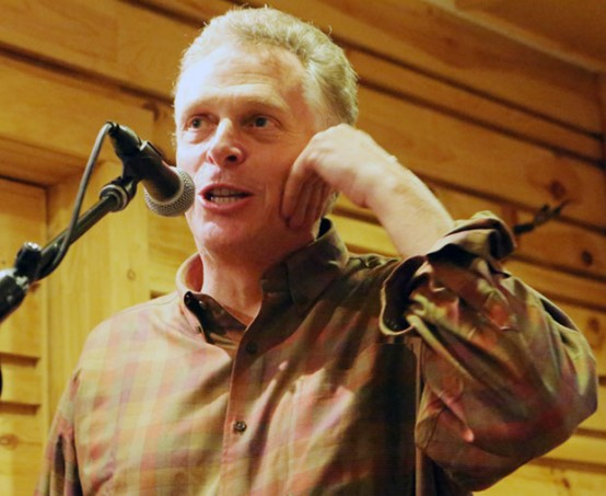 Terry McAuliffe campaigning in rural Virginia (Capitol Hill Blue/Doug Thompson)