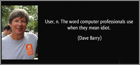 Yep. Dave Berry says it all.