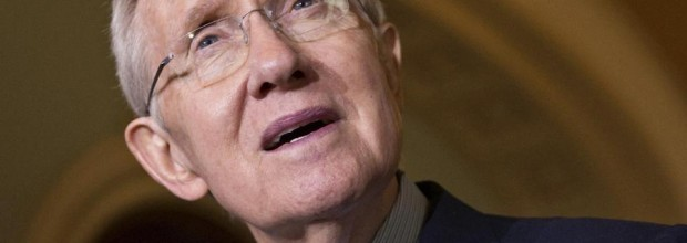 Reid retreats on obstruction of votes on jobless bill